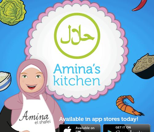Review: Amina's Kitchen App