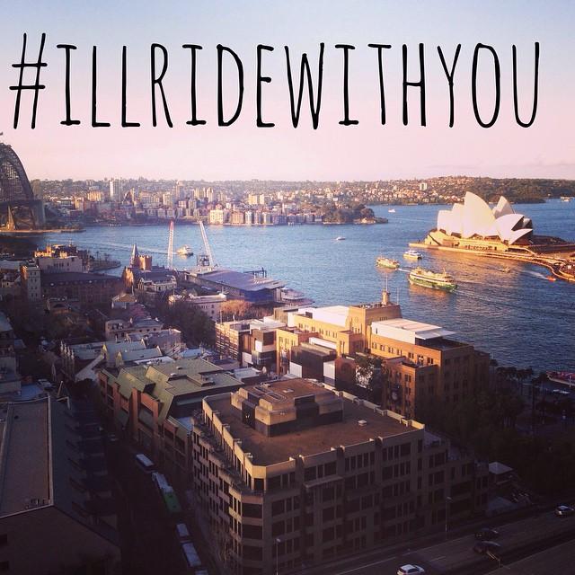 Such a tragic day, thoughts and prayers go out to everyone. #illridewithyou #prayforsydney #sydneyseige #unitedwestand