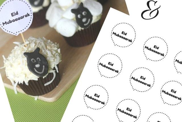 Eid Sheep Cupcakes Tutorial